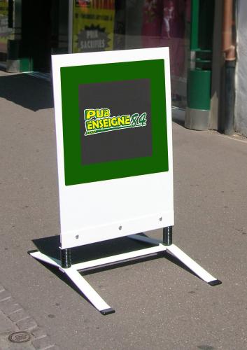 Signal tique ext rieur panneau de trottoir enseigne 84 for Panneau enseigne exterieur